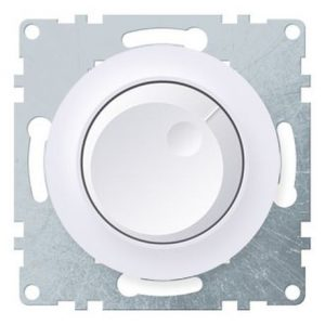 1E42001300 Светорегулятор 600 W для ламп накаливания и галогенных ламп, цвет белый