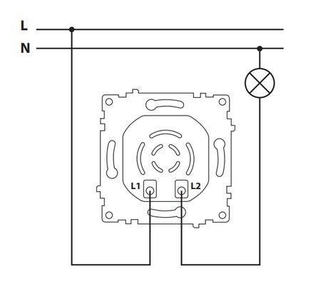 подключение диммера OneKeyElectro