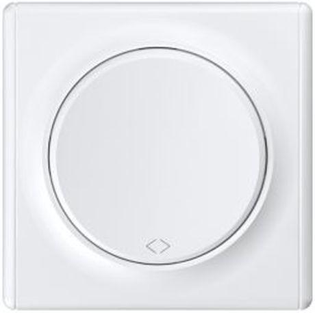1E31451300 Выключатель перекрестный, цвет белый с рамкой