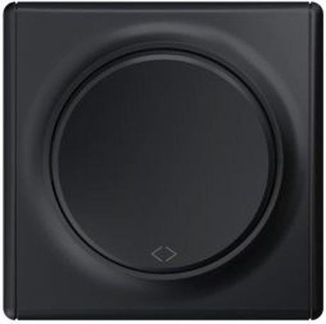 1E31451303 Выключатель перекрестный, цвет чёрный с рамкой
