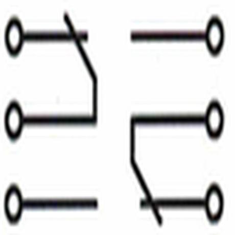 схема двойного переключателя