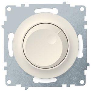 1E42001301 Светорегулятор 600 W для ламп накаливания и галогенных ламп, цвет бежевый