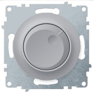 1E42001302 Светорегулятор 600 W для ламп накаливания и галогенных ламп, цвет серый