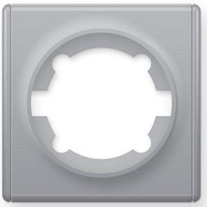 1E52101302 Рамка одинарная, цвет серый