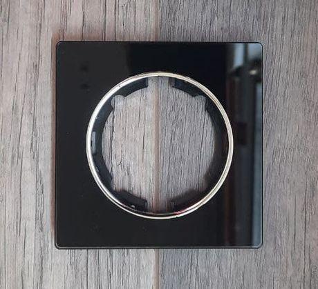рамка скляна onekeyelectro la garda чорна одномісна